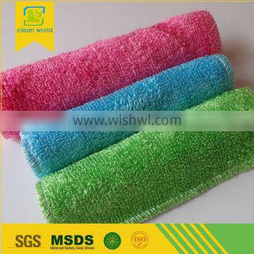 Table Cleaning Bamboo Fiber Towel Dish Cloth