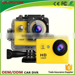 2.0 inch gostyle camera diving action camera full hd 1080p sports action camera with 30M waterproof