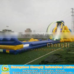Cheap giant inflatable pool slide for adult