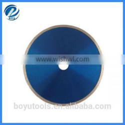 industry quality diamond continuous blade for wet cutting