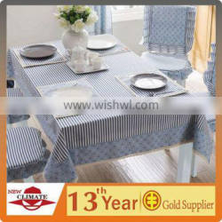 HIGH QUALITY STRIPED TABLE CLOTH