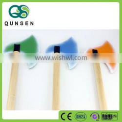 New design children toys wooden colorful toy axe