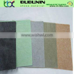 1.2mm Non woven imitation leather fabric for shoe lining material