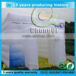 Giant cube clear inflatable tent for sale