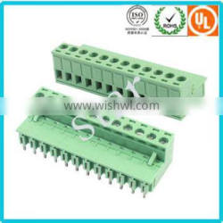 5.0mm 5.08mm Screwed pluggable PCB Terminal Block Connector