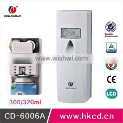 hot sell plastic spray scent air machine wall mounted aerosol