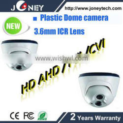 In Stock HD resolution IR LED ARRAY Dome Camera HD Analog CMOS Camera 3.6mm Fixed Lens Auto White Balance