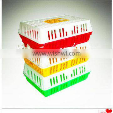Competitive price plastic transport chicken cage