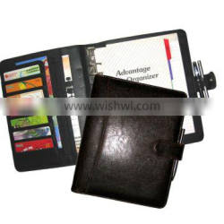 SYNTHETIC LEATHER DIARY PLANNER WITH BINDER