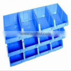 China High Quality Stackable Plastic Parts Boxes Bin For Workshop