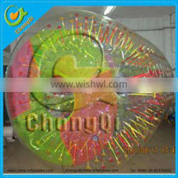 Hot selling products inflatable water roller ball
