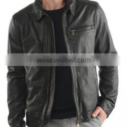 Hot Selling Cheap Pakistan Leather Jackets for Man CLE-801