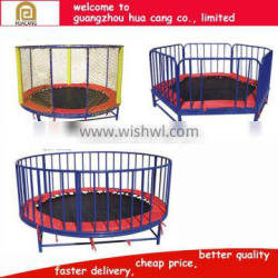 2016 Outdoor used trapoline ,amusing outdoor trampoline with CE for sale