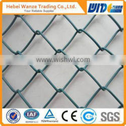 removable pvc coated chain link fence(6ft)
