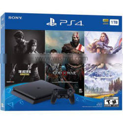 Sony PlayStation 4 Bundle with The Last of Us: Remastered, God of War & Horizon Zero Dawn: Complete Edition Price 50usd
