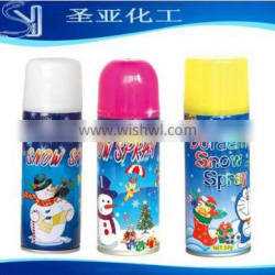 250ml colored party foam snow spray for party celebration