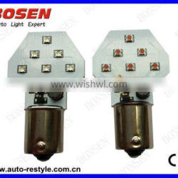 Aircraft wingtip navigation LED lights with fast strobe LED BAY15S 30W CREE high Power LED