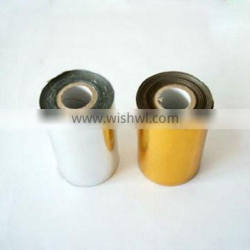 Colored hot stamping film for plastic cards