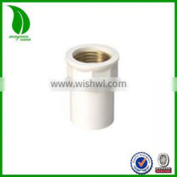 DIN plastic CPVC fittings Copper Therad Insert Female Adapter