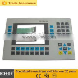 Best quality and flat telecommunication equipment tactile waterproof touch screen keyboard membrane switch keypad