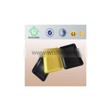 China Supply FDA Approved Food Grade Custom Made Plastic Foam Meat Tray With Meat Pads
