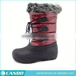 Hot Selling Women Footwears Lace Up Girls Boots, Snow Boots Outsole