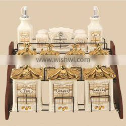Promotion pattern ceramic seal pot/storage containers