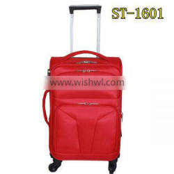 2016 china supplier new design trolley luggage 4 pieces luggage per set