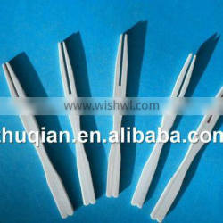 Chinese dispoable bamboo fruit forks bamboo craft