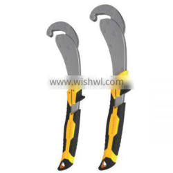 2PC POWER GRIP PIPE WRENCH SET