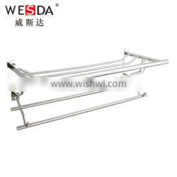 Wesda made in china high quality stainless bath towel shelf 092