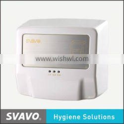 bathroom hand dryer, automatic toilet electrical hand blower, wall mount hand dryer