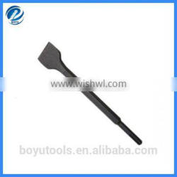 Hex Body electric hammer wide chisel