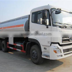 Military truck basis Dongfeng brand 10 wheels 6x4 20CBM to 25CBM oil tanker for sale