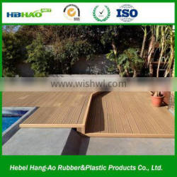 2015 durable eco-friendly outdoor wood plastic composite wpc decking