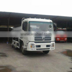 DF kinland fuel truck 18cbm with flat roof cabin