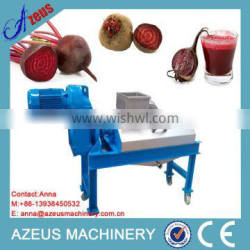 Hydraulic automatic sugarbeet juice extract machine with SUS304 stainless steel