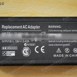 High Copy Laptop AC Power adapter for Asus 19V 3.42A