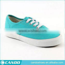 Lake Blue Low Price Wholesale Woman Shoes Sneakers