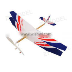 Fly Bird - Fight Hawk 20 Rubber Band Powered Plane