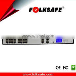 Unmanaged switches 10/100m 16 ports poe switch with combo port ,with LCD Screen