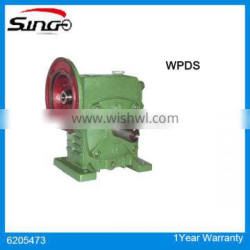 WPDS Bevel Gearbox Speed reducer Gears with motor model 100