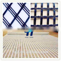 Strengthen the road surface and roadbed Biaxial warp knitted fiberglass geogrid Fiberglass geogrid
