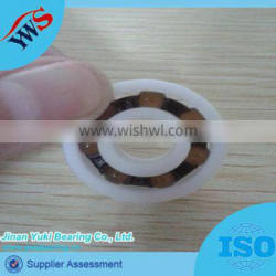 634 in cheap price high friction plastic ball bearings