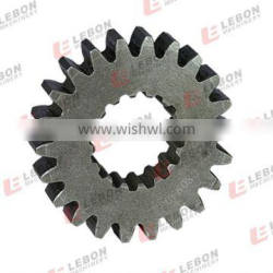 Swing gear excavator with small spur gear in stock