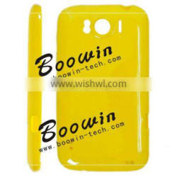 Yellow Soft TPU Gel Crystal Jelly Case Cover for htc sensation xl 21