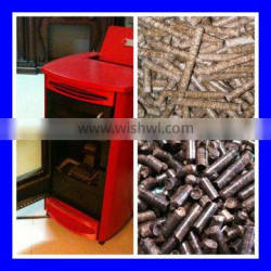 Good quality wood pellet stove price with lowest price