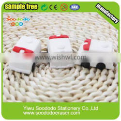 types of erasers School Supply Stationery 3d puzzle erasers