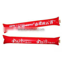 red color inflatable cheer cheering sticks hand clap noise maker