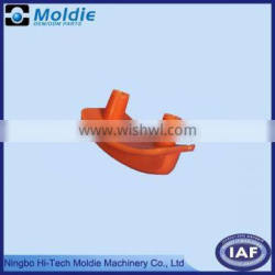 plastic molding button red ABS material
